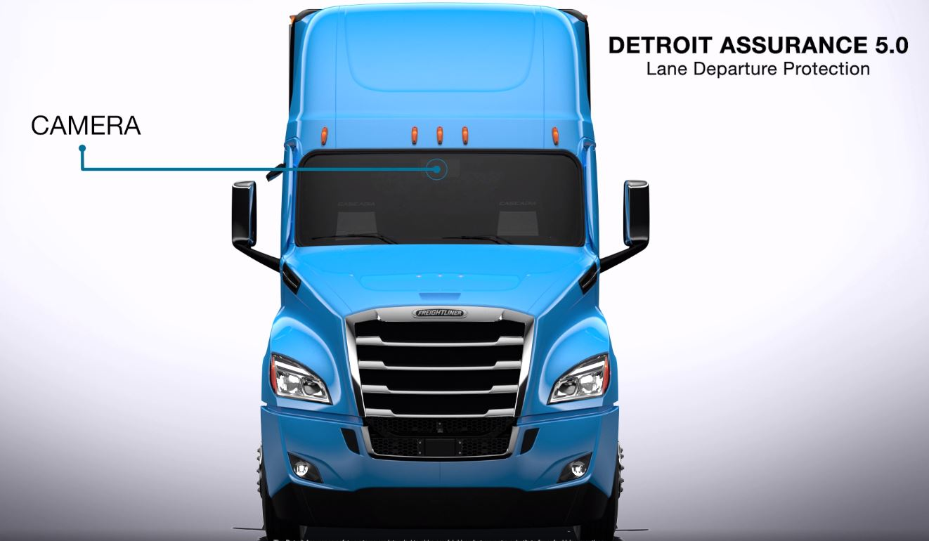 Detroit Assurance 5.0 Lane Departure Protection