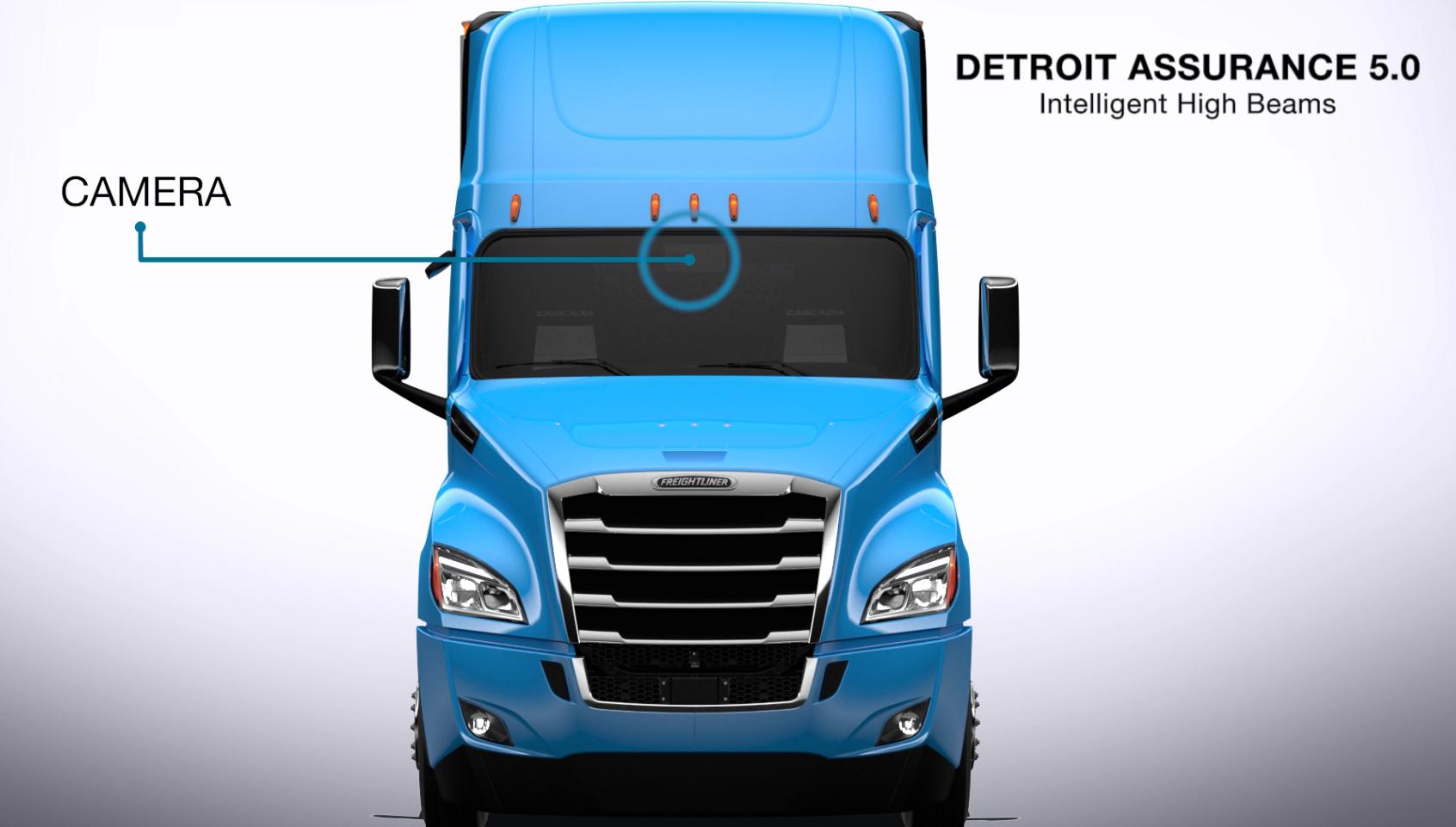 Detroit Assurance 5.0 Intelligent High Beams